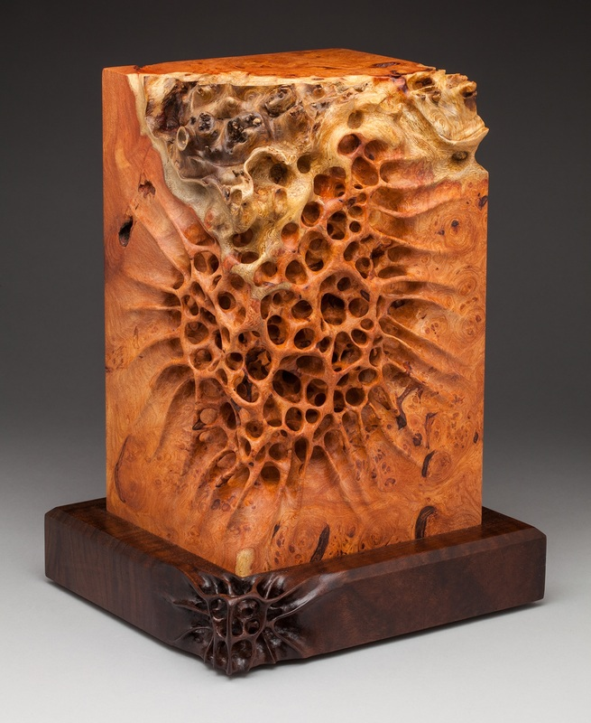 Sculptural artwork wood carved sculptures by mark